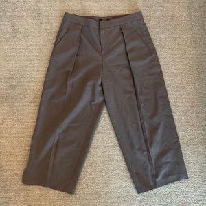 Olive Cullotte trousers
